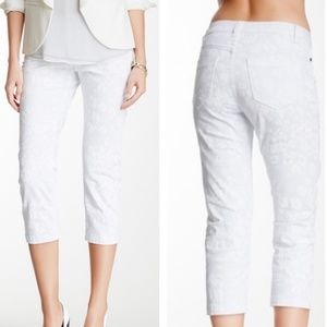 Christopher Blue Chloe Mid-Rise Skinny Crop - A34